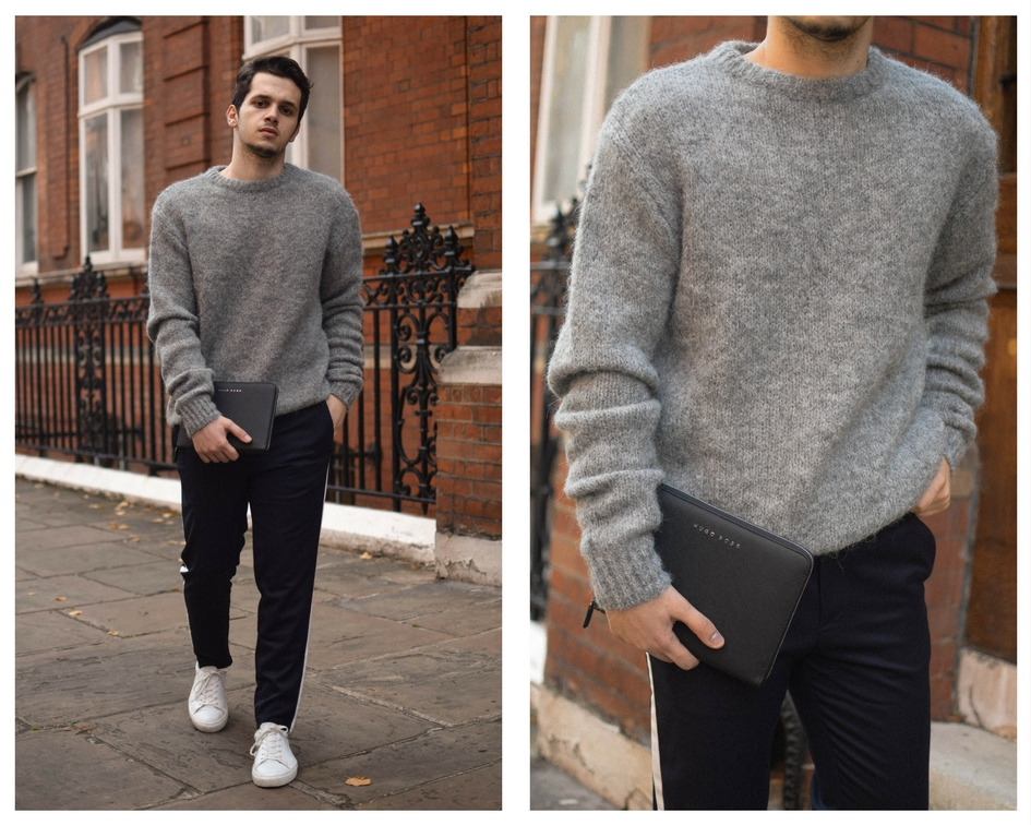Wool Sweater Look