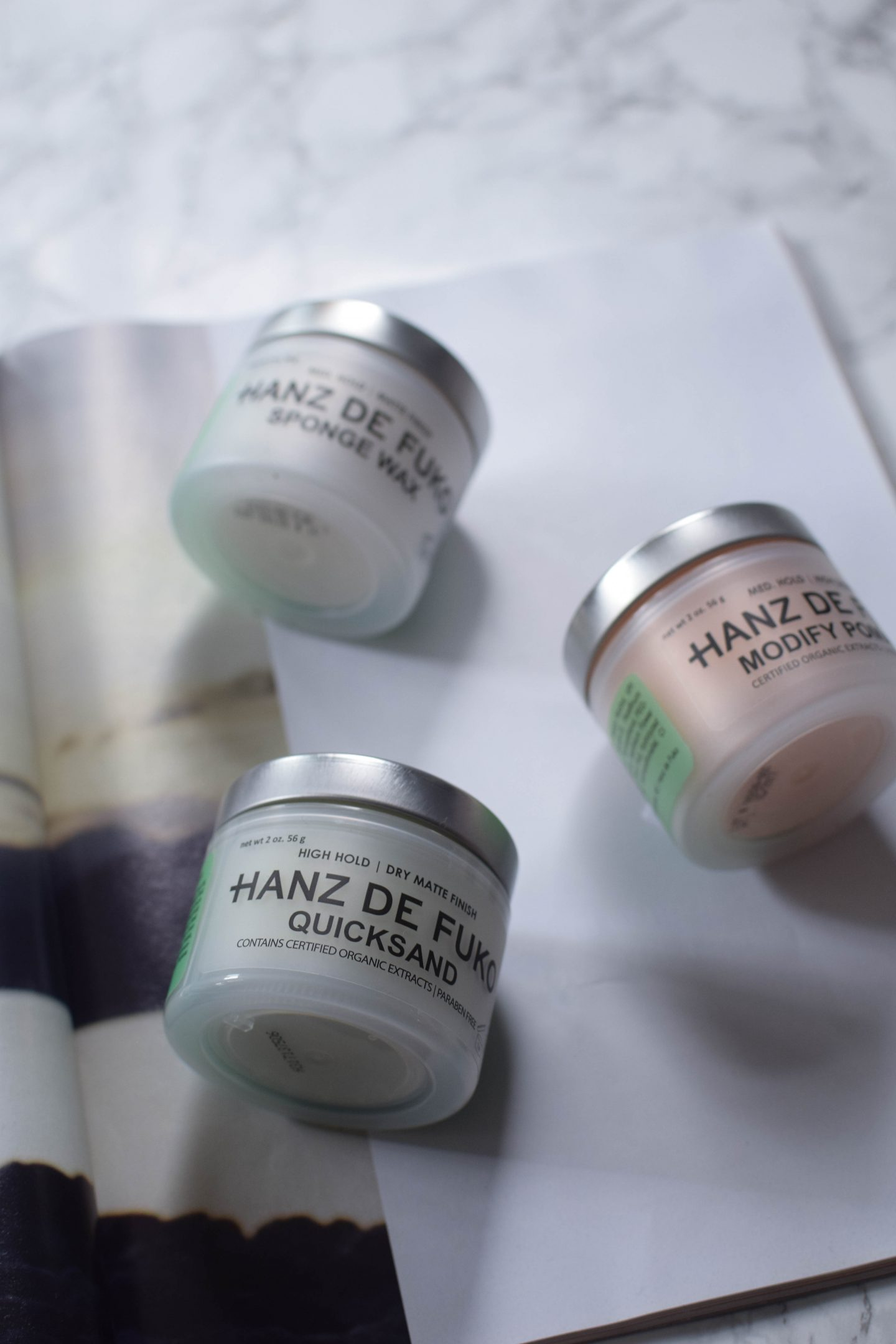 Hanz De Fuko Products Review ( Claymation, Quicksand, Sponge Wax)