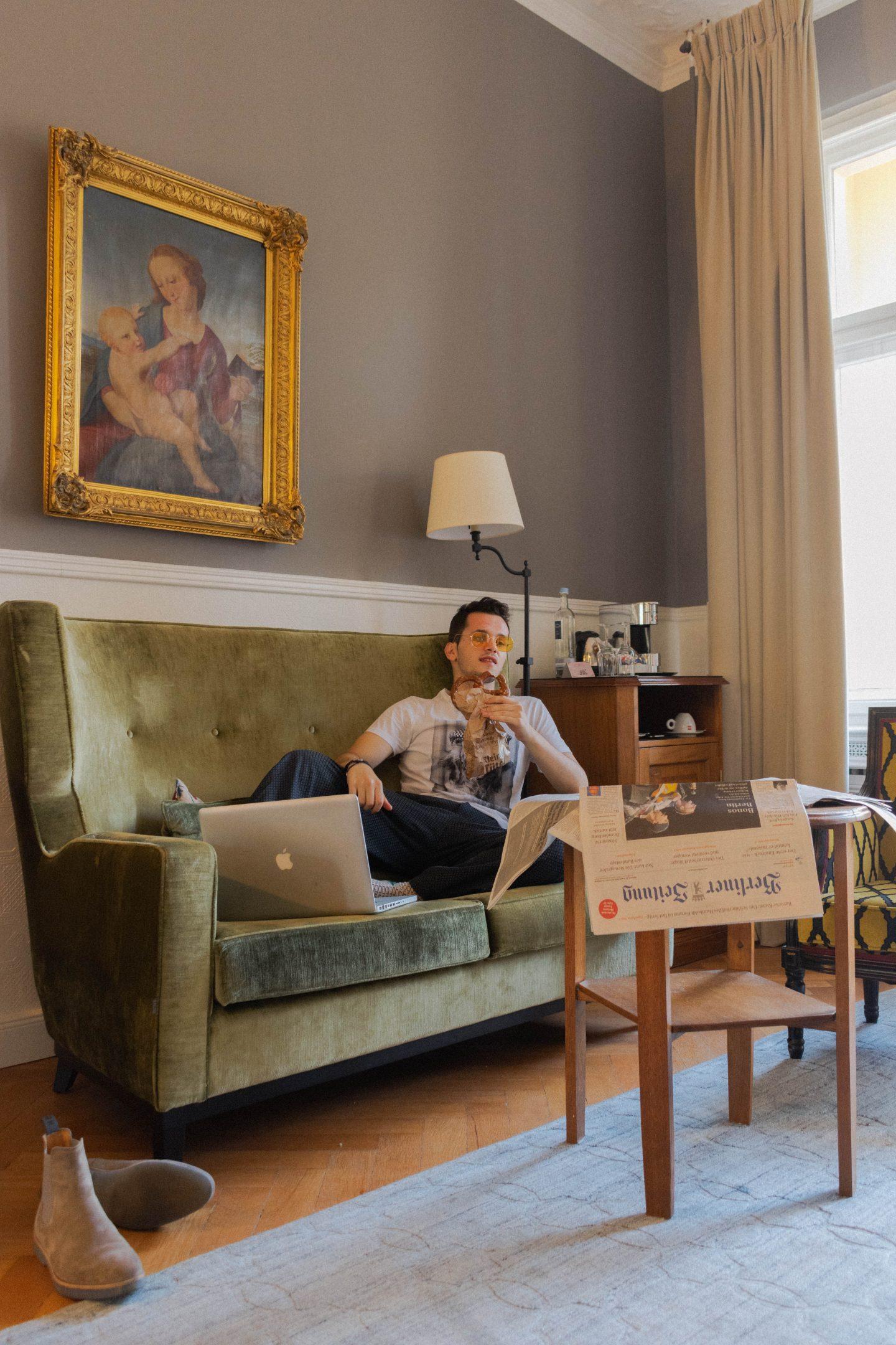 henri hotel berlin a retro boutique in kurf rstendamm elefv. Black Bedroom Furniture Sets. Home Design Ideas